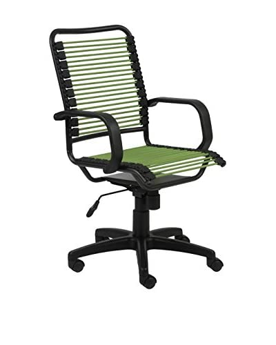 Euro Style Bradley-High Back Bungie Office Chair, Green
