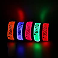1 Pack for 2 PCS-Bseen LED armband, r…
