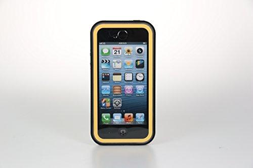 【全4色】IVSO オリジナルiphone 6 plus (5.5インチだけ適用) 専用上質PUレザーケース 完全防水・防塵・防磨耗 超薄型 最軽量 スマートフォンケース 専用防水防塵ケース 防水防雨防磨耗のシリーズ (ブラック)