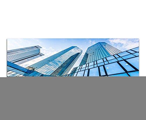 panorama-foto-xxl-su-tela-e-telaio-180-x-70-cm-frankfurt-am-main-deutsche-bank-edifici