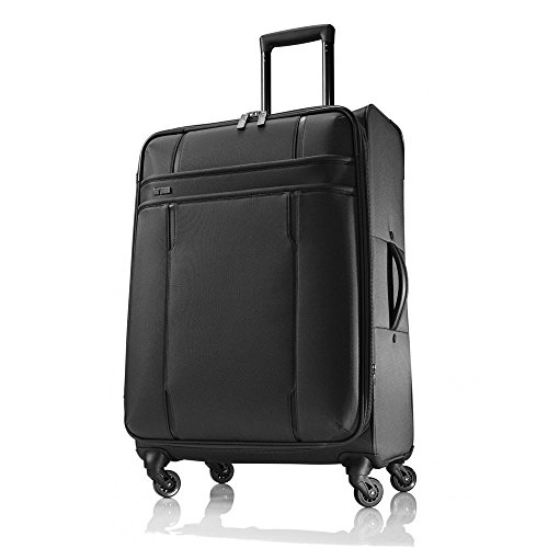 hartmann-lineaire-carry-on-spinner-black-one-size