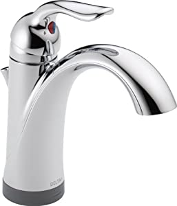 Delta 538T-DST Lahara Single Handle Lavatory Faucet with Touch2O.xt Technology, Chrome