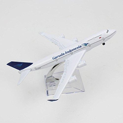 Garuda Indonesia Airline BOEING 747-400 Diecast Model Aircraft Plane 1/400 (16 Cm) (Garuda Indonesia Die Cast compare prices)
