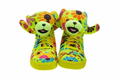 Adidas Js Bear Mens Style: G61076-SLIME/STIG Size: 7