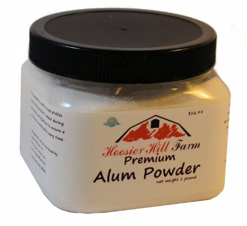 Hoosier Hill Farm Alum Powder Granulated, 1 Lb.