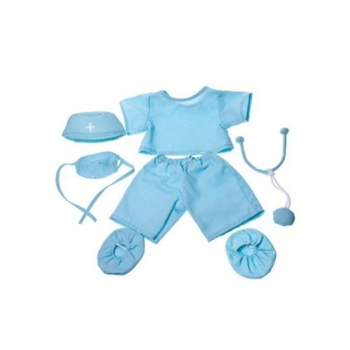 Doctor-Scrubs-Outfit-Teddy-Bear-Clothes-Fit-14-18-Build-A-Bear-Vermont-Teddy-Bears-and-Make-Your-Own-Stuffed-Animals