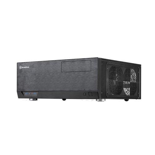 SilverStone GRANDIAシリーズ ATX対応HTPCケース ブラック SST-GD09B