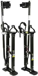 Warner 10771 24-Inch-40-Inch Strap and Stride Drywall Stilts