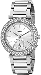 Fossil Women's ES3849 Urban Traveler Multifunction Stainless Steel Watch