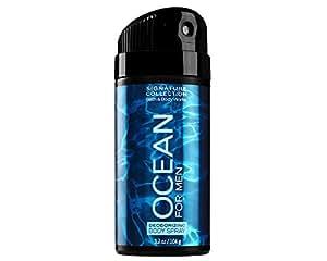 Bath & Body Works Bath and Body Works Signature Collection for Men Deodorizing Body Spray (OCEA... BBW BS OCEAN FOR MEN
