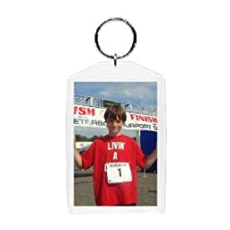 Plastic Photo Snap-in Key Chain - 2x3\