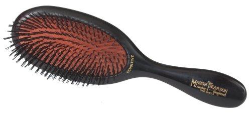 Mason Pearson Sensitive All Boar Bristle Hair Brush-ruby Handle