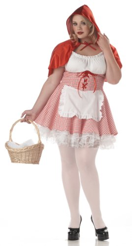 California Costumes Women's Miss Red Riding Hood Costume