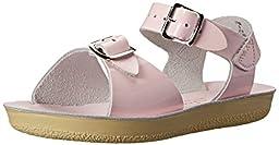 Salt Water Sandals by Hoy Shoe Sun-San Surfer,Pink,5 M US Toddler