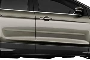 2013-2015 Ford Escape Body Side Moldings (Frosted Glass Metallic P9)