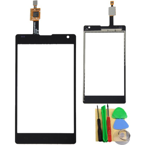 Black Touch Screen Digitizer For Lg Optimus G E970 front-217249