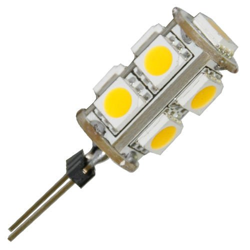Toogoo(R) G4 5050 Smd 9 Led Warm White Rv Marine Camper Boat Car Spot Light Bulb Lamp 12V