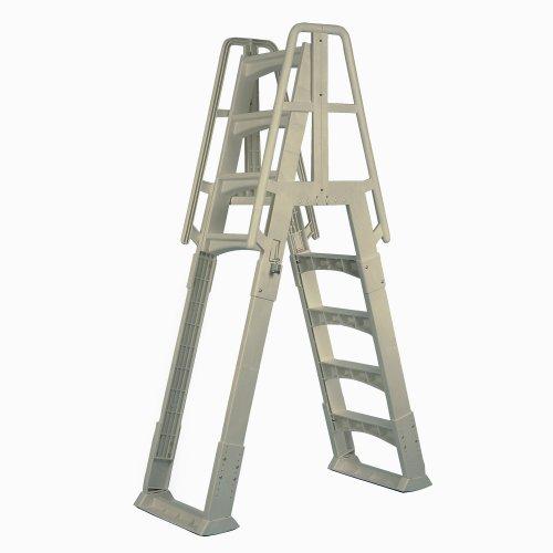 Vinyl Works Ne120t Premium Frame Above Ground Pool Ladder Taupe Home Garden Spa Spa Accessories