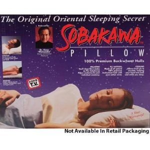 "Nature's Pillow Original Sobakawa Buckwheat Pillow Sized 20"" x 15"" at Sears.com"