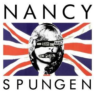 Rock Star Tシャツ SEX PISTOLS「GOD SAVE THE QUEEN」のエリザベス女王が、シド・ヴィシャスの恋人として有名なナンシーに ロングスリーブ Tシャツ NANCY SPUNGEN (S, SHERBETYELLOW)