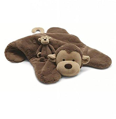 Jellycat® Bashful Sleeptime Monkey Blanket front-936894