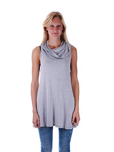 khujo -  Vestito  - Abbigliamento - Donna Lt-Grey XL
