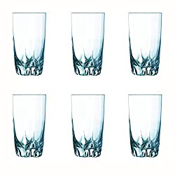 Luminarc Lisbonne Highball Tumbler Set, 330ml, Set of 6, Transparent