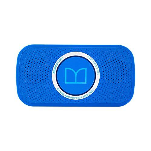 Monster SUPERSTAR portabler Bluetooth-Lautsprecher (mit integr. Akku) Neon Blau