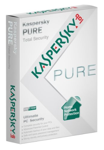 Kaspersky Pure, Total Security, 3 PC's, 1 Year subscription (PC)