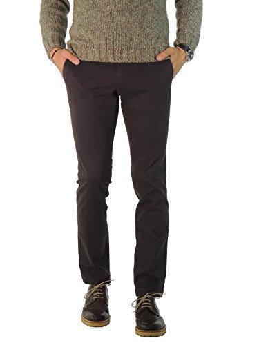 Manuel Ritz Pantalone Uomo tinta unita 1732P1638LX143536 (31, BLU)