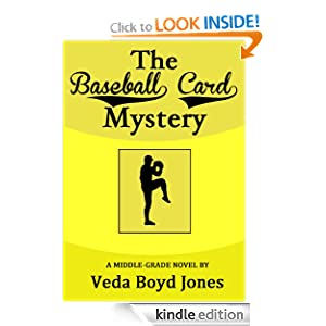 The Baseball Card Mystery (Sam Morgan Mysteries) Veda Boyd Jones
