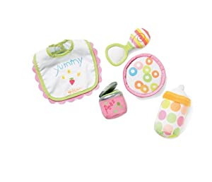 Manhattan Toy Baby Stella Feeding Set Accessory for Nurturing Dolls