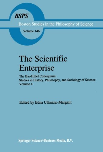 the-scientific-enterprise-the-bar-hillel-colloquium-studies-in-history-philosophy-and-sociology-of-s