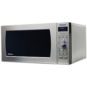 Panasonic Prestige NN-SD797S, 1.6cuft 1250 Watt Sensor Microwave Oven, Stainless Steel