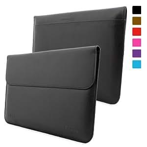 Housse Surface 1 & 2, Snugg™ - Pochette à Rabat Noire Avec Garantie à Vie Pour Microsoft Surface et Surface 2 (RT & Pro)