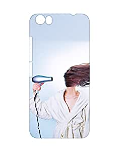 Mobifry Back case cover for Micromax Canvas Fire 4 A107 Mobile (Printed design)