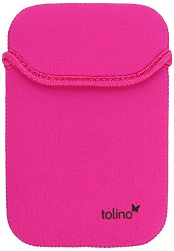tolino shine Neoprentasche, wendbar Schwarz/Pink