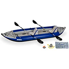 Sea Eagle 420x Inflatable Kayak with Deluxe Package by Sea Eagle