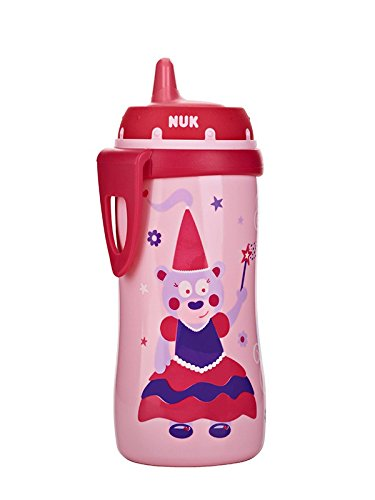 NUK Hard Spout Active Cup in Assorted Colors and Patterns, 10-Ounce