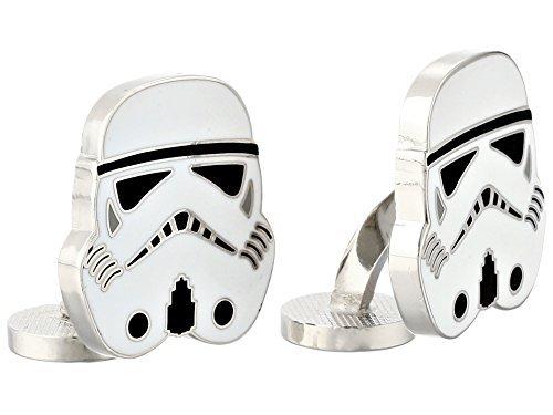 Cufflinks Inc. Men's Star Wars Stormtrooper Cufflinks Black Cuff Links One Size