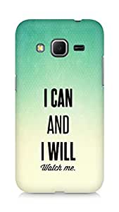AMEZ i can and i will watch me Back Cover For Samsung Galaxy Core Prime