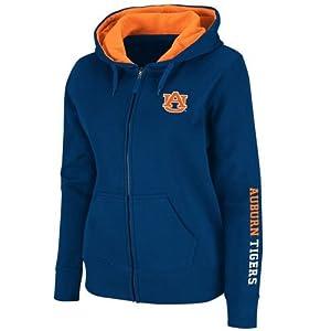 Auburn Tigers Ladies Full Zip Titan Fleece Hooded Sweatshirt by SportShack INC