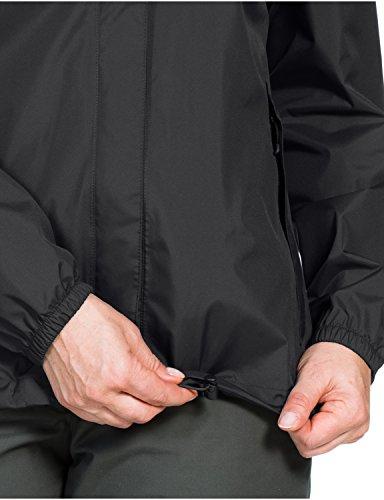 Jack Wolfskin Damen Hardshelljacke Cloudburst, black, XL, 1104941-6000005 -