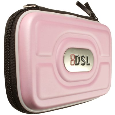 Block Entertainment (tm) - Nintendo Ds Lite Protective Carry Case  - Flip Pouch with Zip (Pink)