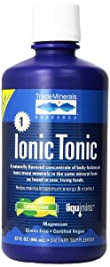 Liquimins, Ionic Tonic Mineral Concentrate , Lemon Lime, 32-Fluid Ounces