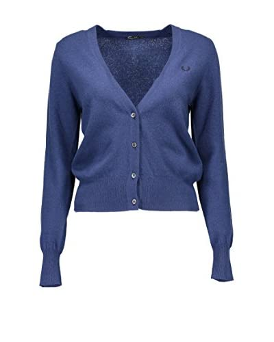 Fred Perry Cardigan blau