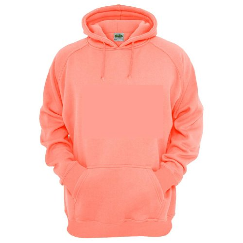 All We Do Is Men's Salmon Hoodie - Pink - X-Large