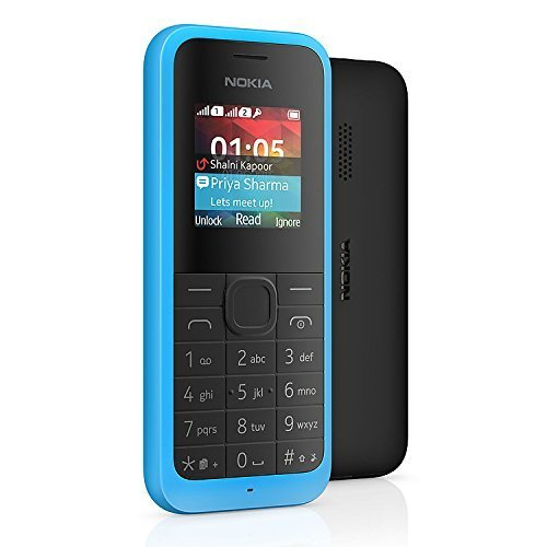 Nokia 105 Dual Sim (Cyan)