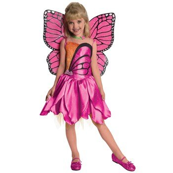 Barbie-Deluxe Mariposa Toddler Child Costume