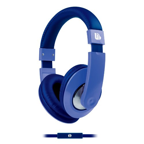 Urban Beatz Tempo Headphones With Mic Duotone - Blue (Ub-Hm800-400)